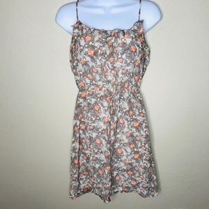 XS floral dress by Hinge (Nordstrom), 100% silk